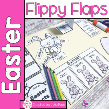 Easter Flippy Flaps Interactive Notebook Lapbook