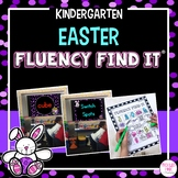 Easter Fluency Find It (Kindergarten)