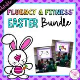 Easter Fluency & Fitness® {EDITABLE} Brain Breaks