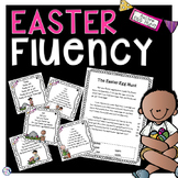 Reading Fluency Pyramids - Easter Themed