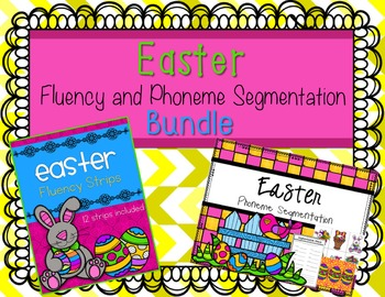 Easter Fluency and Phonemic Awareness Bundle