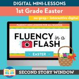 Easter Fluency in a Flash 1st Grade • Digital Fluency Mini