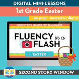 Easter Fluency in a Flash 1st Grade • Digital Fluency Mini