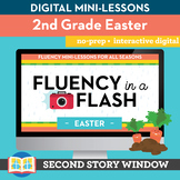 Easter Fluency in a Flash 2nd Grade • Digital Fluency Mini