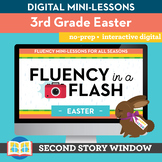 Easter Fluency in a Flash 3rd Grade • Digital Fluency Mini