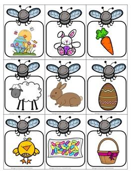 Easter Flyswatter Vocabulary Game
