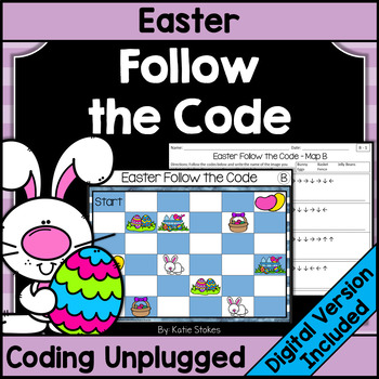 Easter Follow the Code (Coding Unplugged)