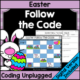 Easter Coding Unplugged - Follow the Code