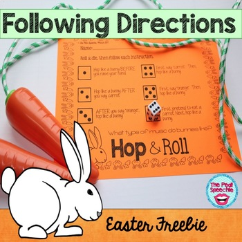 Following Directions | Easter Activities