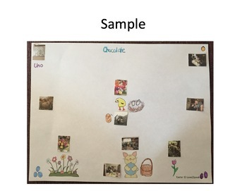 Easter Following Directions, Reading Comprehension & Sequencing w/ Real Pics