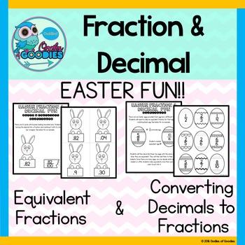 Easter Fraction & Decimal Fun