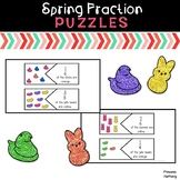Spring Fraction Puzzles