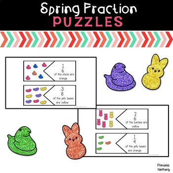 Easter Fraction Puzzles