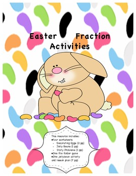 Easter Fractions Resource Packet