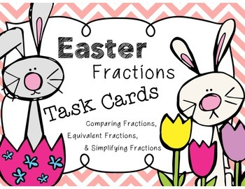 Easter Fractions Task Cards