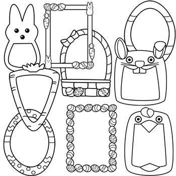Easter Frames Clipart