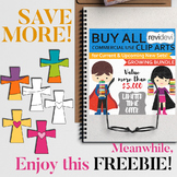Easter Free Clipart - Christian Crosses