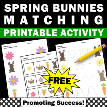 graphic relating to Free Printable Resources for Autism referred to as Cost-free Spring Functions Preschool Matching Exclusive Education and learning and Autism Components