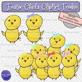Easter Freebie Clip Art: 9 Lovely Easter Chicks Clip Art Images