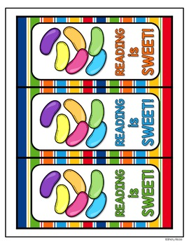 Easter Freebie!  Jellybean Reading - Informational Text and Easter Bookmarks