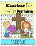 **Easter Freebie** Math & Literacy Printables!