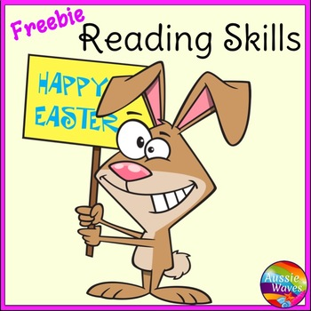 Easter Freebie Task Cards for Reading Comprehension Skills