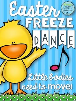 Brain Break - Easter Freeze Dance