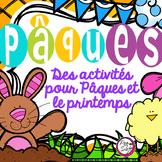 Easter ~ French ~ Des activités pour Pâques et le printemps!