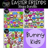 Easter Friends Clipart Bundle {Creative Clips Clipart}