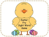 Easter Fry Sight Word Game