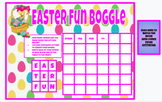 Easter Fun Boggle Activity (Digital and Printable Color or B/W))
