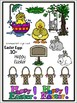 Easter Fun Clipart (12 Free Easter egg graphics included)!