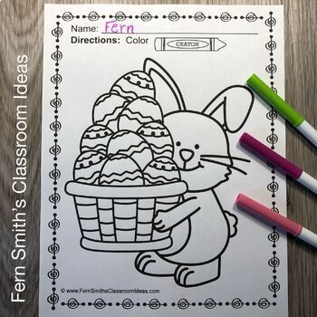 Easter Coloring Pages - 33 Pages of Easter Coloring Fun