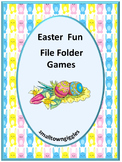 Easter File Folder Games Special Education Distance Learni