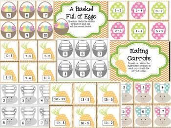 Easter Fun Math & Literacy Activities CCSS