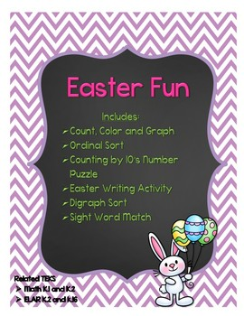 Easter Fun: Math and Writing Worksheets