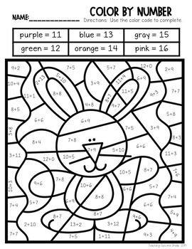Easter Fun Packet