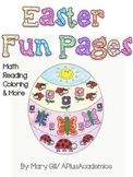 Easter Bundle - Preschool - Kindergarten - First - Second