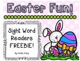 Easter Fun Sight Word Readers