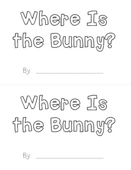 Easter Fun Sight Word Readers