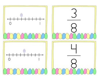 Easter Fun With Fractions BUNDLE - Common Core Aligned