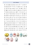Easter Fun picture WordSearch