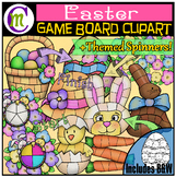 Easter Game Boards Clipart