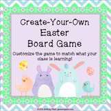 Easter Game: Customizable Easter Activity