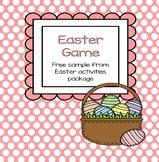 Easter Game Free Sample