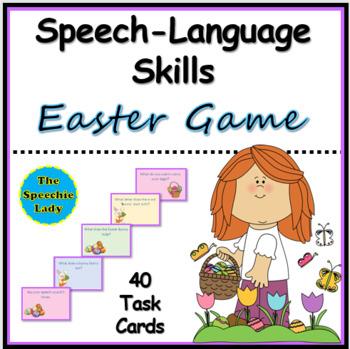 Easter Game TO TARGET SPEECH & LANGUAGE SKILLS