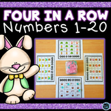 Four in a Row Easter Game | Easter Numbers 1-20 | Easter Math Kindergarten