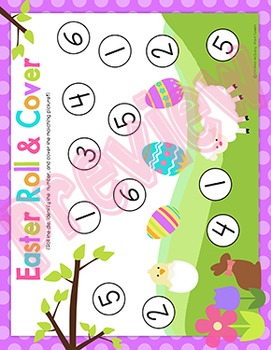 Easter Roll and Cover Games