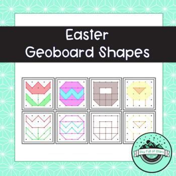 Easter Geoboard Task Cards