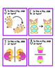 Easter Geometry - Slides, Flips, Turns - Symmetry - Math Center